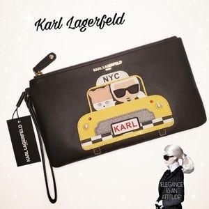 Karl Lagerfeld NYC Taxi Wristlet